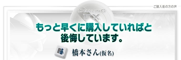 Dealing FX 口コミ②
